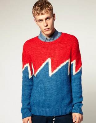 humor-strick-pullover-blau-rot