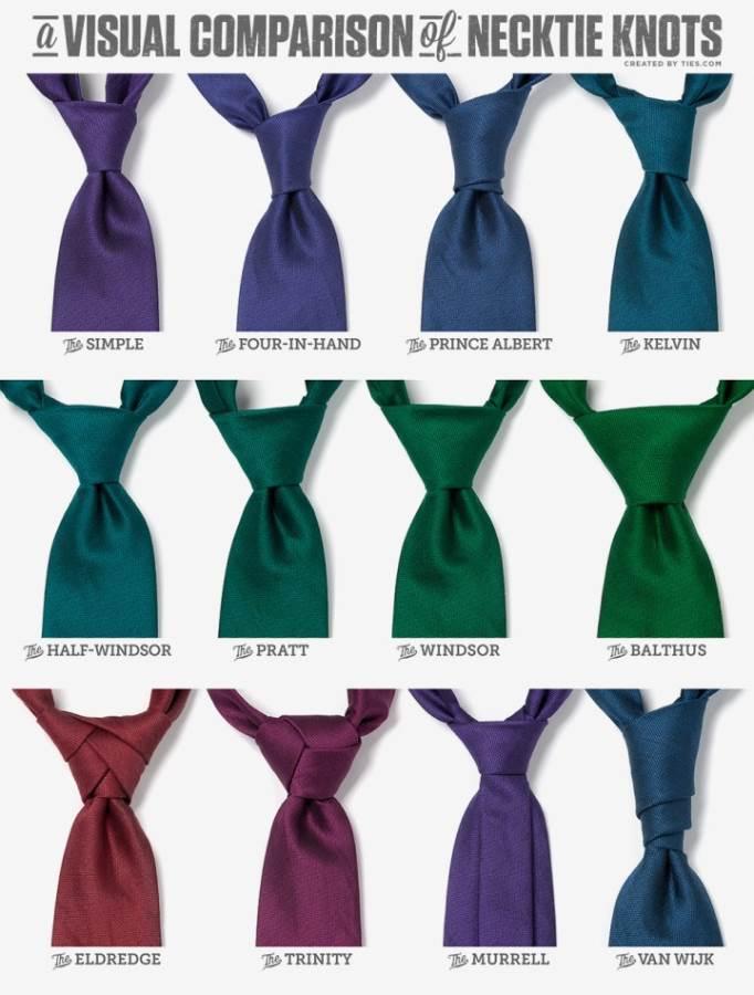 Krawatten_Necktie Knots