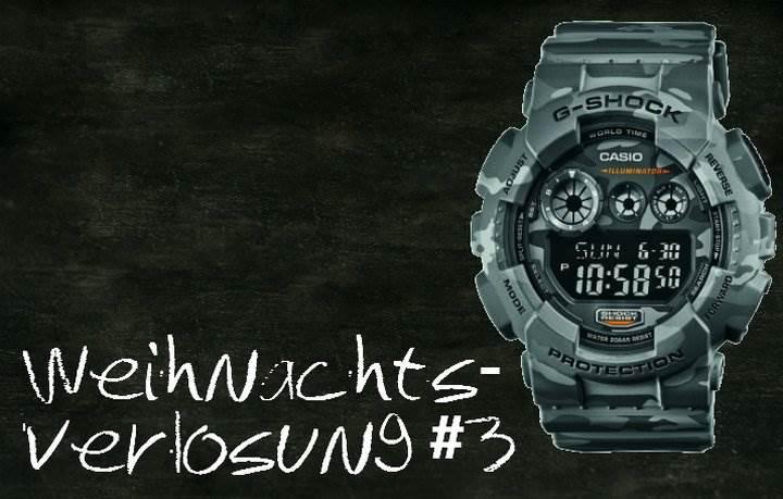 Weihnachtsverlosung G-Shock