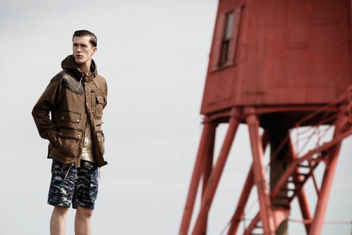 Barbour x White Mountaineering 1