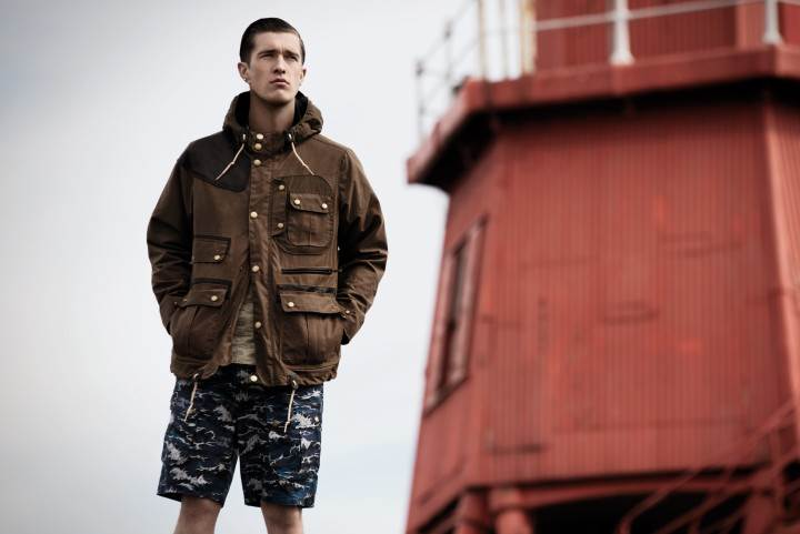 Barbour x White Mountaineering 2