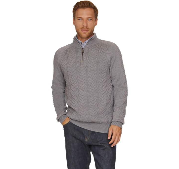 Troyer Traction Half Zip Barbour International