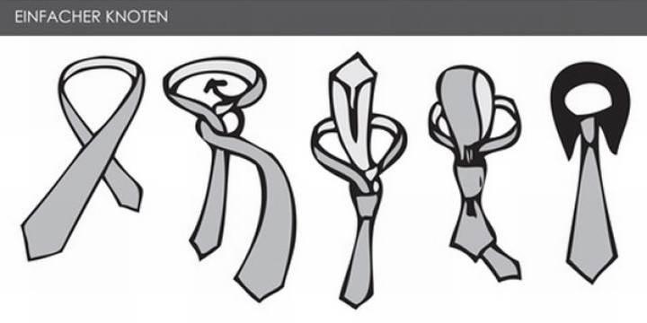 krawatte binden so macht man n das m nner style. Black Bedroom Furniture Sets. Home Design Ideas