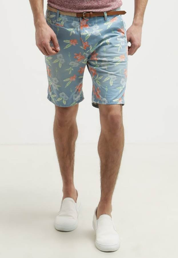 Bellfield Shorts - powder blue