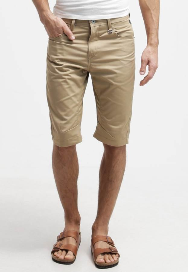Jack & Jones JJCOMORGAN LOOSE FIT - Shorts - cornstalk