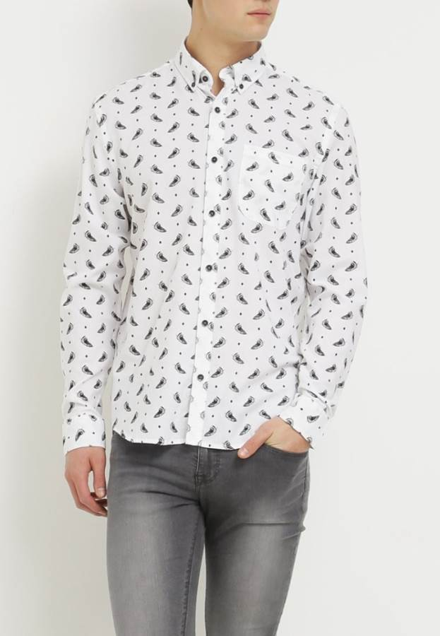 Only & Sons ONSMADS REGULAR FIT - Hemd - white
