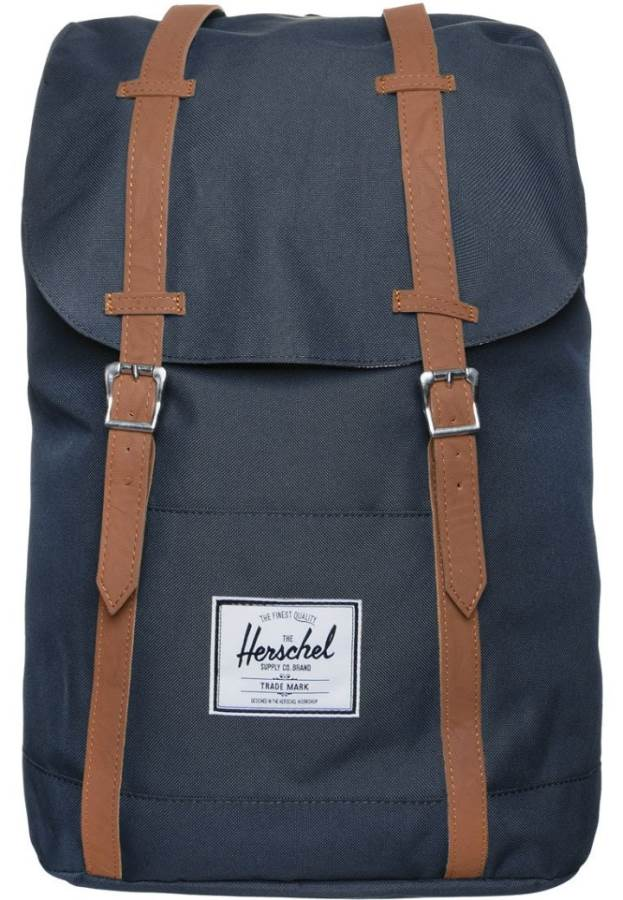 Herschel RETREAT - Rucksack - navy tan