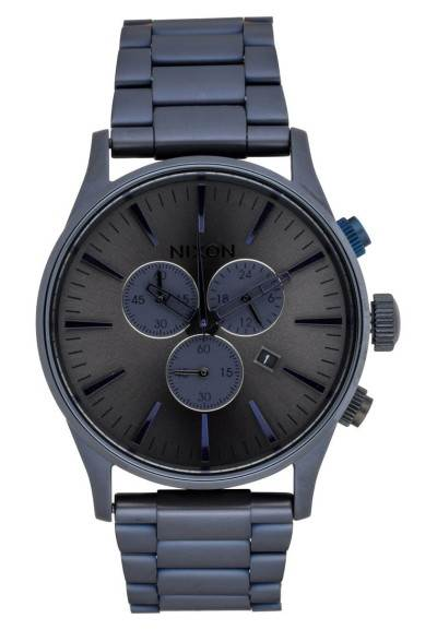 Nixon SENTRY - Chronograph - deep blue