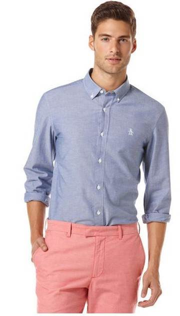 Oxfords Essential Straight Up Shirt Original Penguin