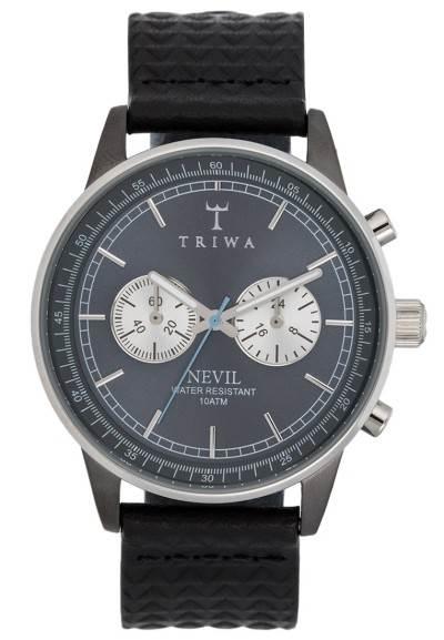 Triwa ASH NEVIL - Chronograph - black giza classic