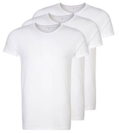 Tommy Hilfiger 3 PACK - Unterhemd Shirt - bright white