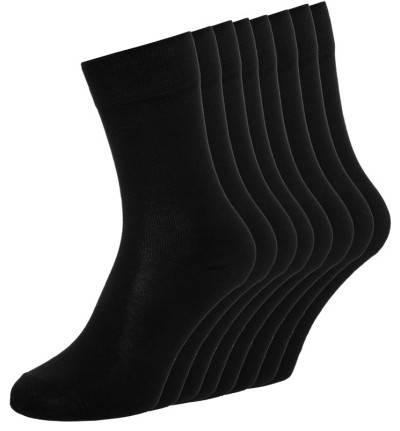 s.Oliver 8 PACK - Socken - black