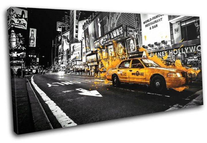 Bold Bloc Design - Yellow Taxi New York City