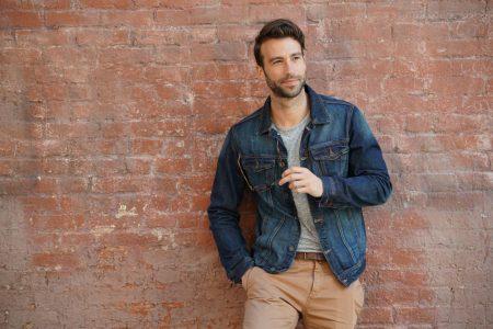 Jeans Jacke für Männer
