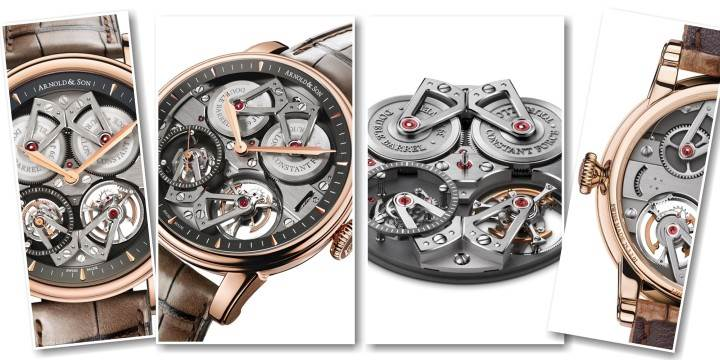 ARNOLD & SON - CONSTANT FORCE TOURBILLON