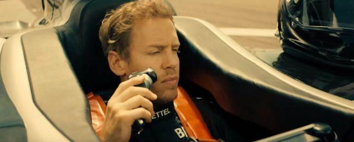 Braun Series 9 Braun Speed Challenge Sebastian Vettel