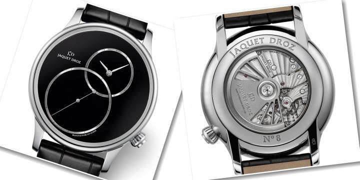 JAQUET DROZ - GRANDE SECONDE OFF-CENTERED ONYX
