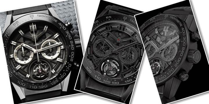 TAG HEUER - CARRERA HEUER-02T BLACK PHANTOM