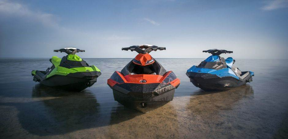 Sea Doo3 Sparks Red Green Blue Family Beauty