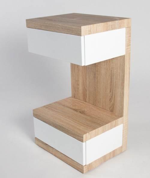 HL Design 01-08-108.2 Boxspring-Nako Linus Nachttisch