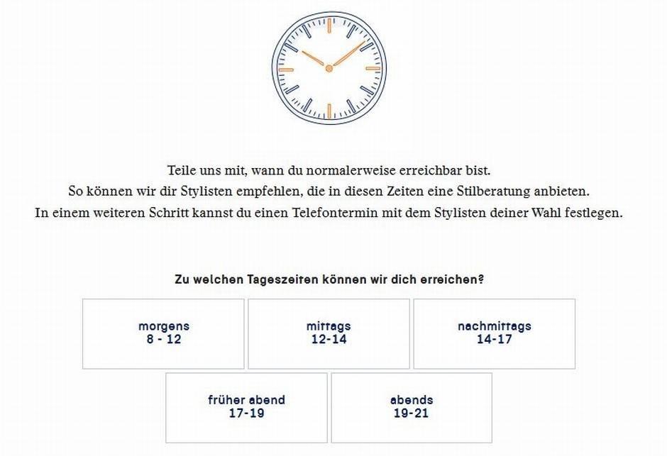 Termin Stylisten vereinbaren - Zalon by Zalando