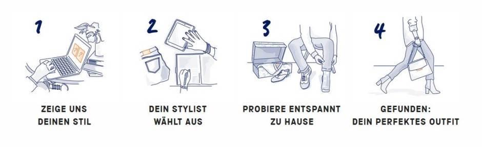 Vier Schritte Outfit Zalon by Zalando