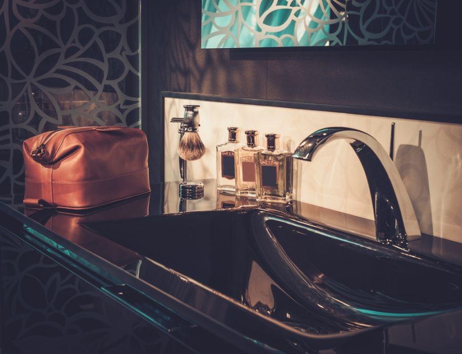 Badezimmer elegant und modern