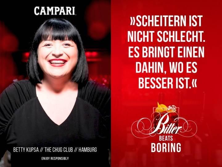 Bitter beats Boring Campari Negroni (1)