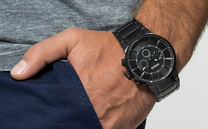 Fossil Chronograph - black