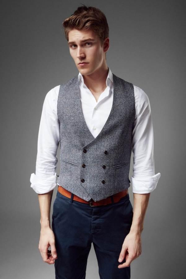 dcedf6c2e6a881 Mit Westen können Männer ihren persönlichen Lifestyle zum Ausdruck bringen  und einen unverwechselbaren Look kreieren. Sie hat heute so viel Style wie  noch ...