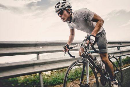Radfahrer Essentials im Alltag