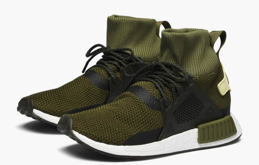 adidas Originals NMD XR1 Winter CQ3074 / grün