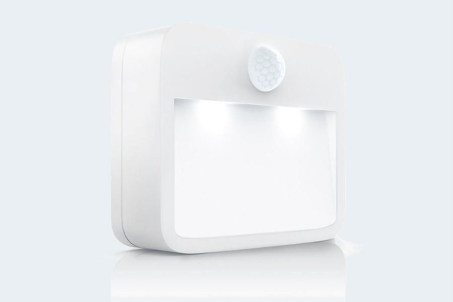 Brandson - LED Nachtlicht mit Bewegungsmelder und Helligkeitssensor