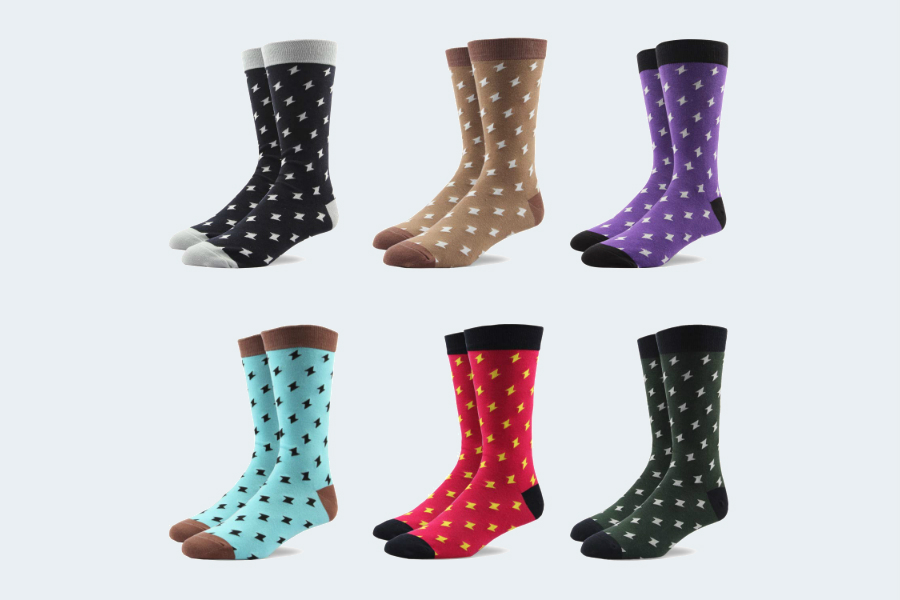 RioRiva Socken Herren - Fein Baumwoll - Gemustert und bunt