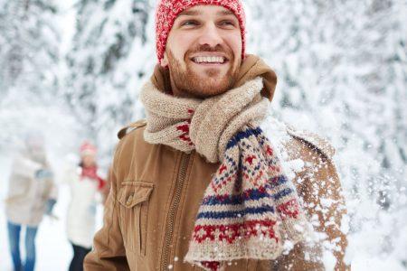 Sieben Stoffe die im Winter warm halten