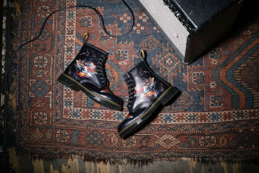 Dr. Martens x Rick Griffin Kollaboration