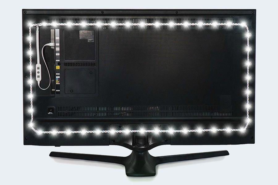 Luminoodle USB LED Hintergrund-Beleuchtung TV in Farbe